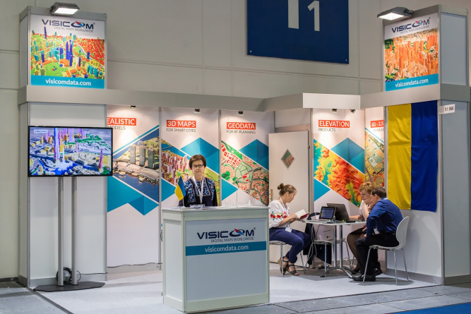 Intergeo 2017 Berlin search for new contacts